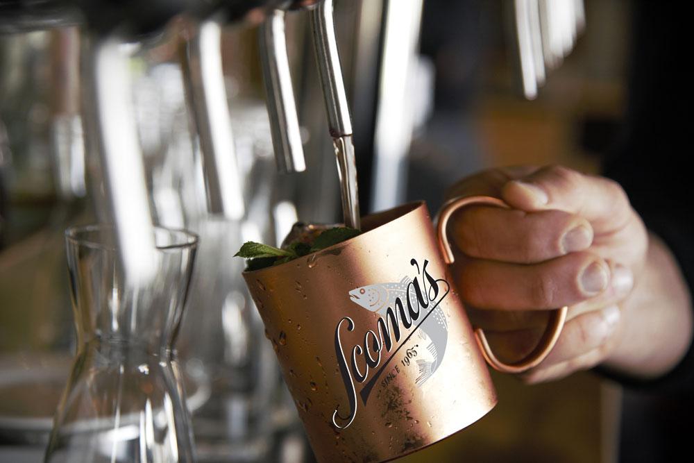 brass cup