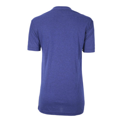 T Shirt -Logo -Plain Back - Blue