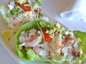 Scoma's Crab and Shrimp Louie Salad