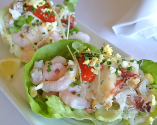 Scoma's Crab and Shrimp Louie Salad